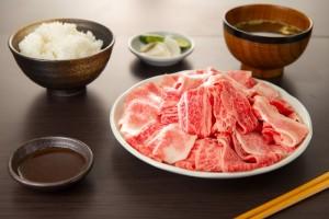 三田和牛お試し切り落とし料理